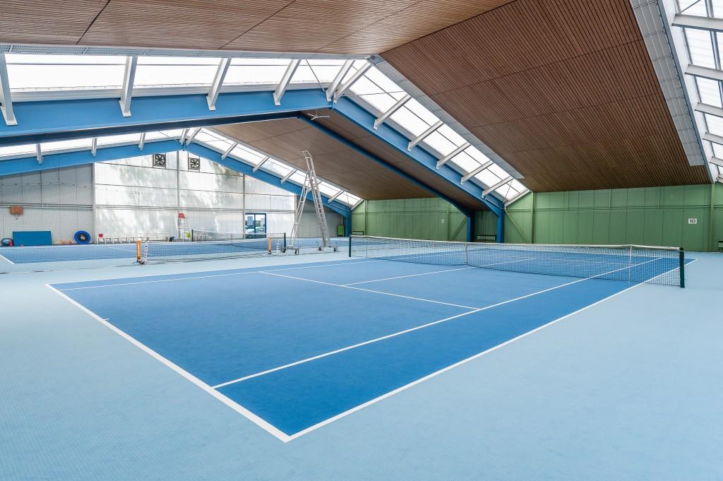 Tennishalle STG Geroksruhe